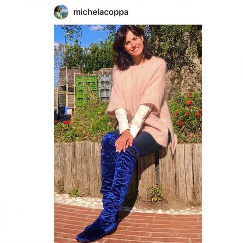 01 Michela Coppa - Stivale alto blu