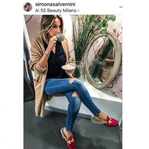02 Simona Salvemini - Slippers velluto rosso