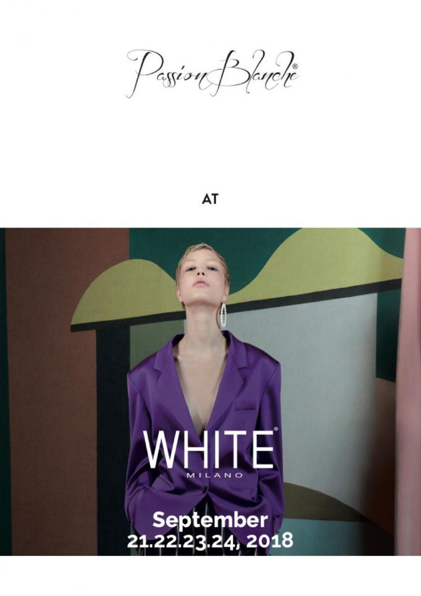 00 White Show - Settembre 2018 - Spring Summer 2019
